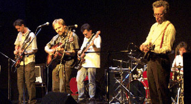 Jarmo with his Vagrant Spirits, The Market Hall Performing Arts Centre, Peterborough, Ontario, May 2001